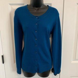 Blue Gap cardigan sweater